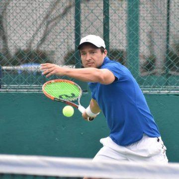 Carlos Palencia va con todo al Nacional de Tenis