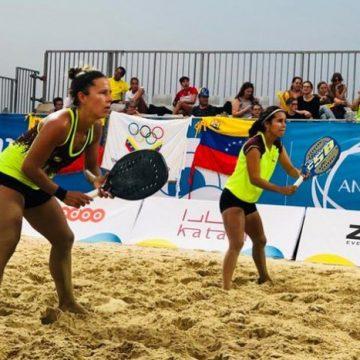 Venezuela termina entre las 10 mejores del mundo del Beach Tennis en Qatar 2019.