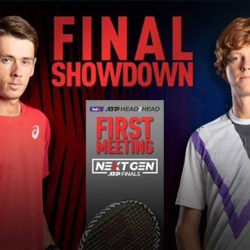 De Miñaur & Sinner Definirán El Título De Las Next Gen ATP Finals