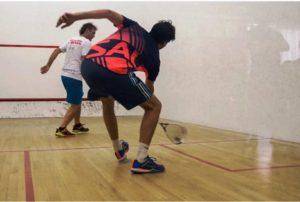 Alexis Videau ganó la última del año en el squash mendocino