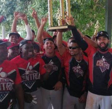 Liga Centro gana torneo BBB navideño de softbol