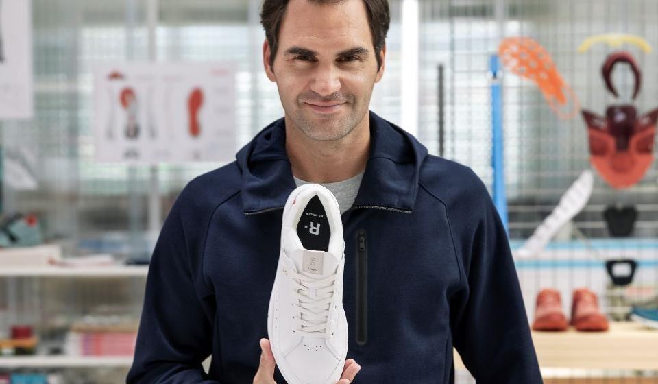Roger Federer presenta Zapatilla «The Roger»,  elogia a Michael Jordan y revela un apodo