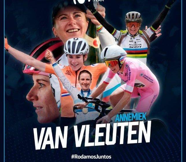 La campeona mundial Van Vleuten ficha por el Movistar español