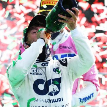 Gasly sorprende en F1 de Italia, Hamilton  termina séptimo