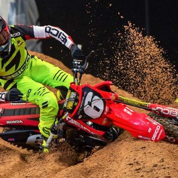 Martin arrasa en 250CC Motocross de Michigan