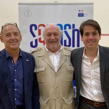 Squash Francia y Colombia firman acuerdo