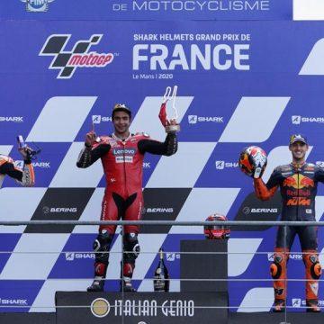 Petrucci gana Moto Gp de Le Mans