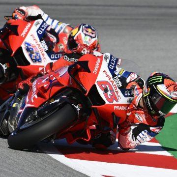 Bagnaia y Miller se van a Ducati en 2021