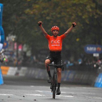 Checo Josef Černý gana etapa 19 del Giro de Italia 2020