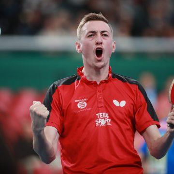 Liam Pitchford listo para regreso del Tenis de Mesa Mundial