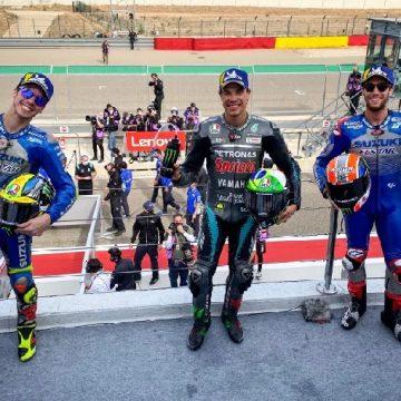 Morbidelli gana MotoGp de Teruel y Mir pasa a líder de la general