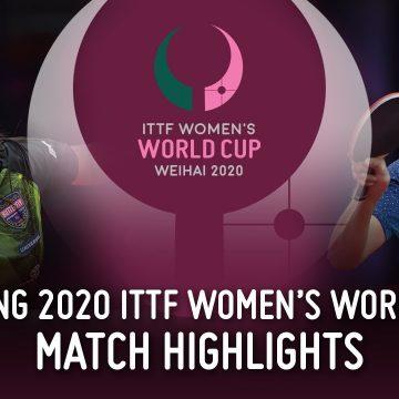 Puertorriqueña Díaz se recupera en Copa Mundial Dishang de Tenis de Mesa