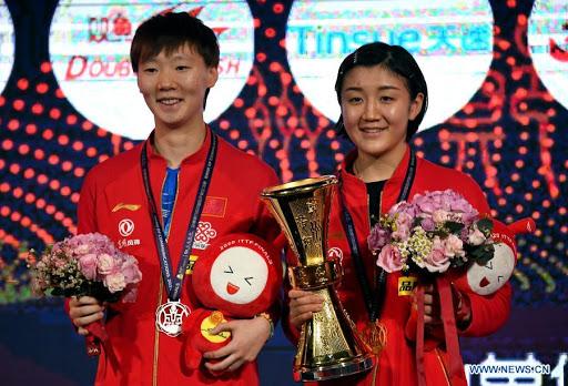 Ma Long y Cheng Meng hacen historia en Mundial de Tenis de Mesa Bank of Communications 2020