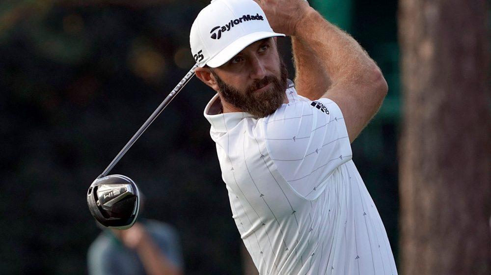 Dustin Johnson toma el control de Golf Master de Augusta