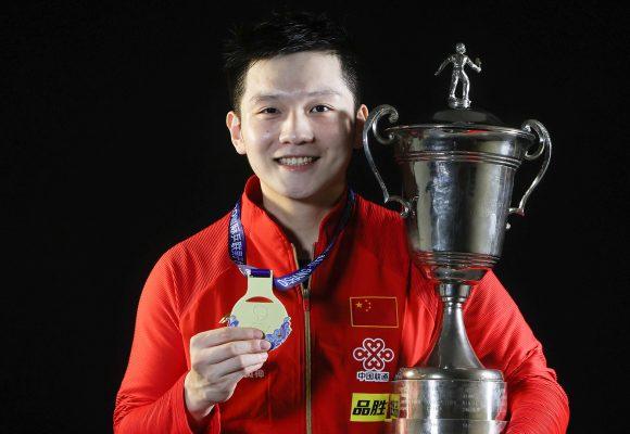 Fan Zhendong iguala récord con cuarto título de la Copa Mundial Masculina, Dishang 2020