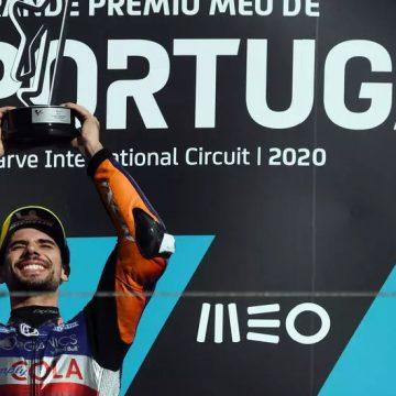 """Oliveira, """"Héroe en su Tierra"""" en MotoGP de Portugal 2020"""