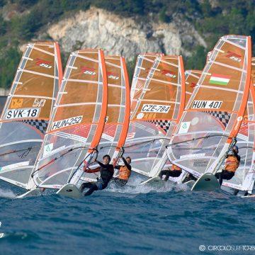 Torbole Tecno 293 reabrió el Windsurfing Mundial