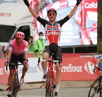 Wellens gana 2da en etapa 14 Vuelta España