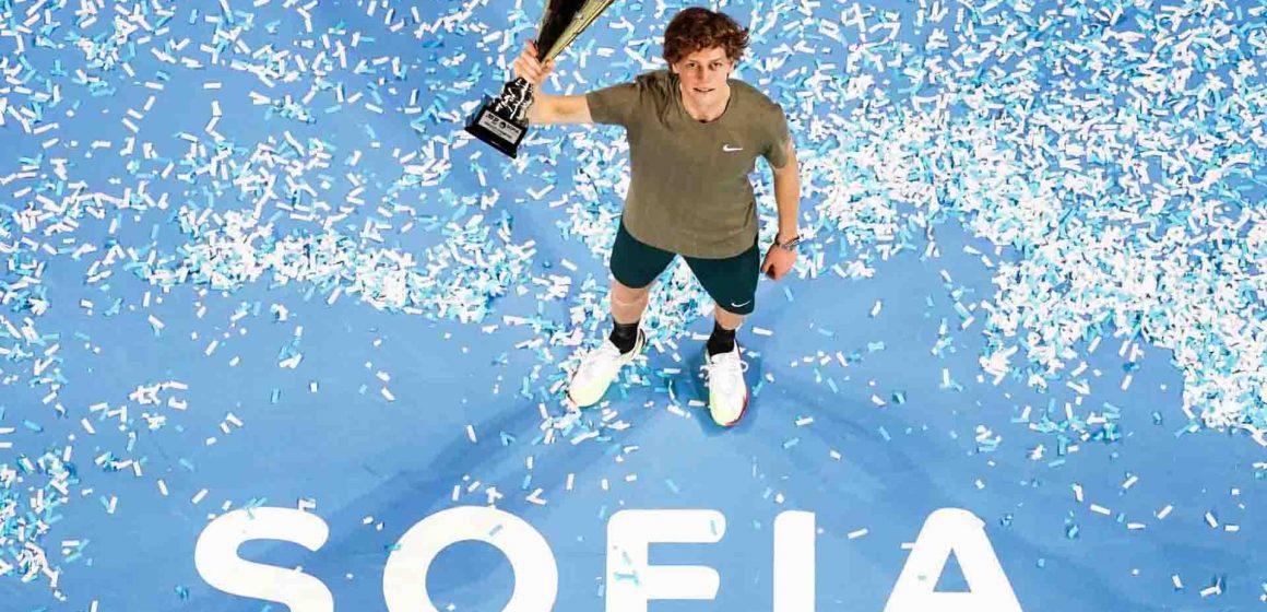 Italiano Jannick Sinner se corona en Tenis Sofia 2020