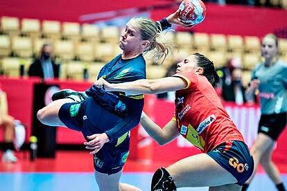 España empata ante Suecia (23-23) en Copa Balonmano Europeo