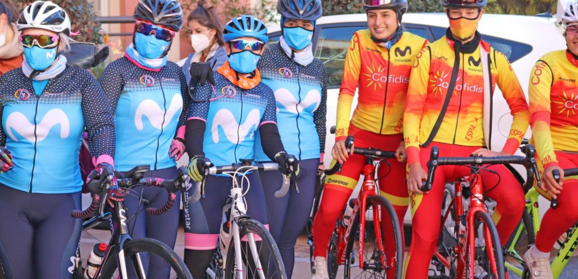 Selección de carretera y Women in Bike se concentran en Alicante.