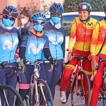 Selección de carretera y Women in Bike se concentran en Alicante.
