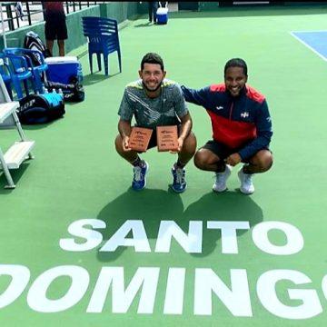 Dominicano Nick Hardt campeón en individual y dobles en Tenis Internacional M15