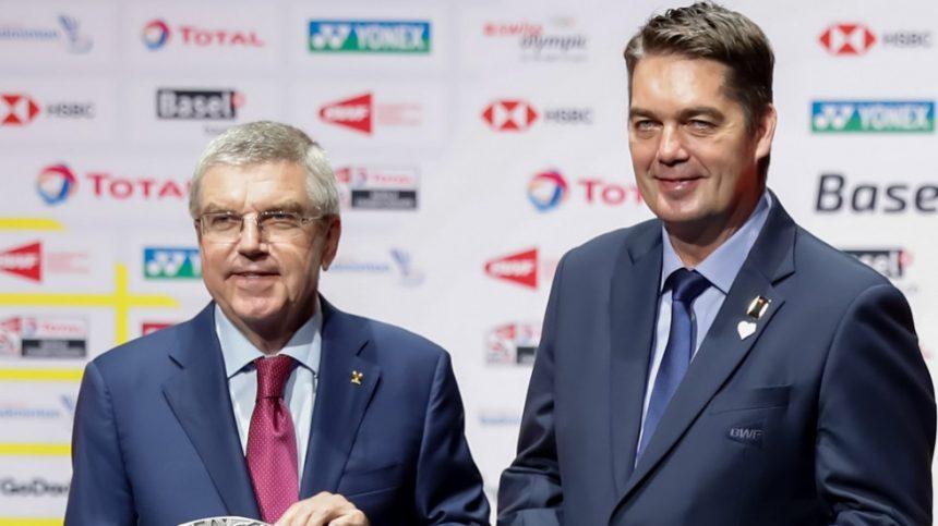 Presidente COI promete a atletas Bádminton experiencia fantástica Olimpiadas Tokio 2021