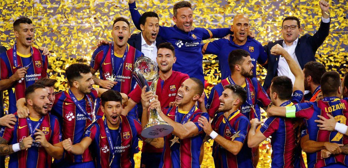 Barça gana Copa del Rey en Fútbol Sala 2020
