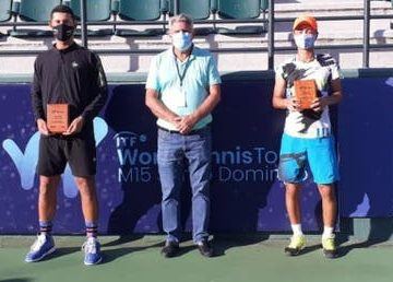 Dominicano Nick Hardt gana en dobles Tenis Internacional M15