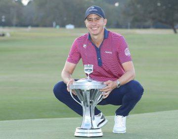 Golfista Ortiz espera ser «ejemplo inspirador» para otros mexicanos