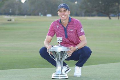 "Golfista Ortiz espera ser ""ejemplo inspirador"" para otros mexicanos"