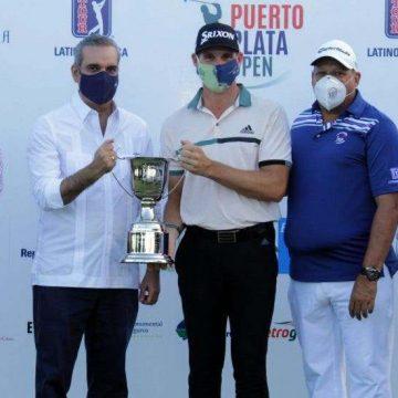 Brandon Matthews, se corona campeón del Golf Puerto Plata Open
