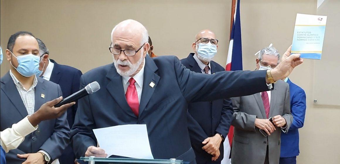 Antonio Acosta asume presidencia del Comité Olímpico Dominicano