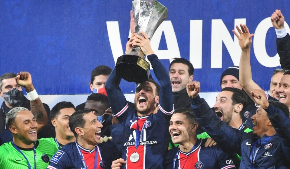 Paris Saint Germain le gana al Olympic de Marsella Super Copa de Francia