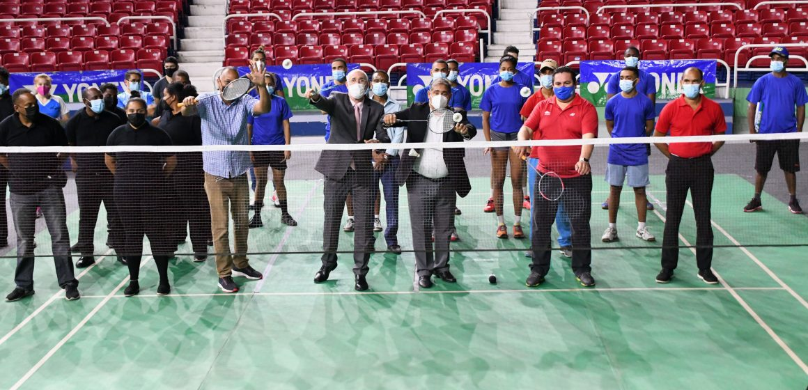 Arrancó el Bádminton Internacional Santo Domingo Open 2021