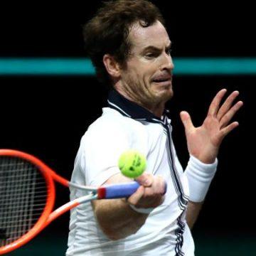 Murray aprende lección en derrota ante Rublev en tennis ATP Rotterdam