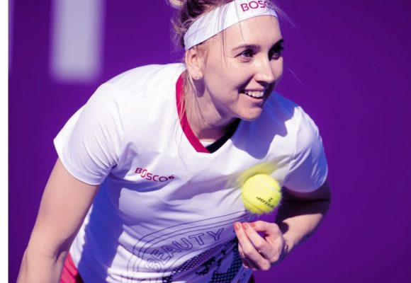Elena Vesnina con pilas nuevas en Tennis WTA de Doha tras convertirse en madre