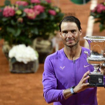 Nadal gana 10mo Título Tennis de Roma