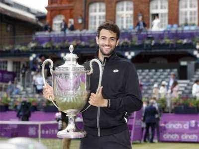 Berrettini se corona en Tenis de  Queens