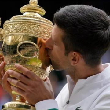 Djokovic ya es el más «GRANDE» con Grand Slam 20 en Wimbledon