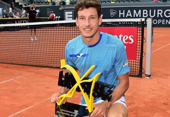 Carreño Busta gana 2do título del año en Tenis de Hamburgo