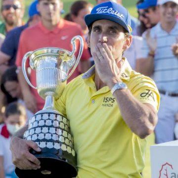 Cabrera Bello conquista el Open de España
